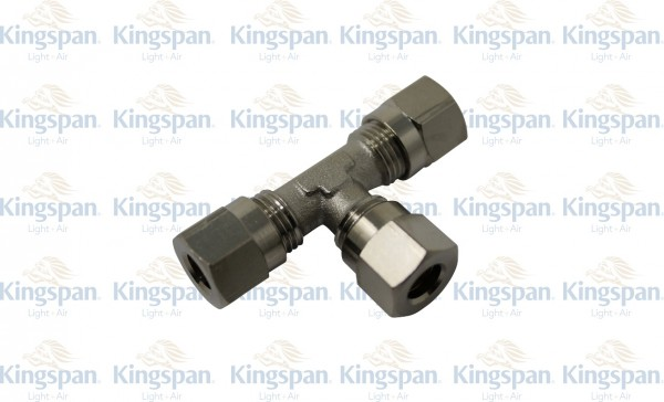 Schneidringverschraubung T Verbinder 8mm
