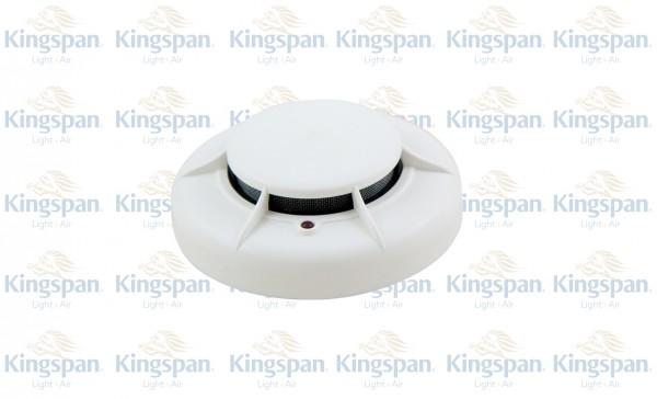 Lichtoptischer Rauchmelder Typ ECO 1003, mit Sockel