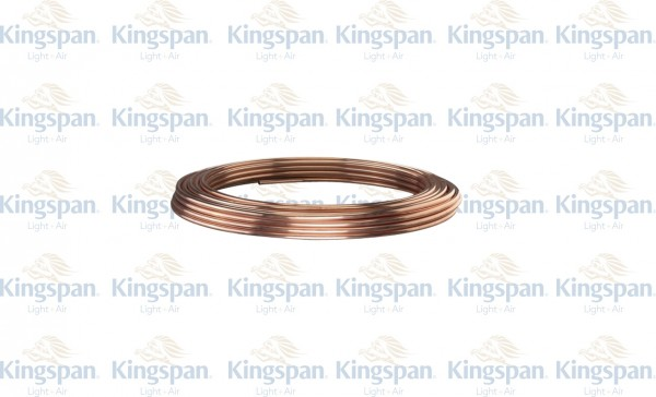 Kupferrohr 8mm, Ring