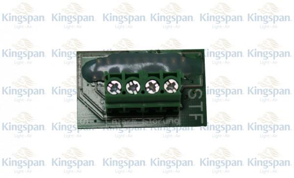 Platine SAS-1für 1/3-SC (Alarm/Störung)