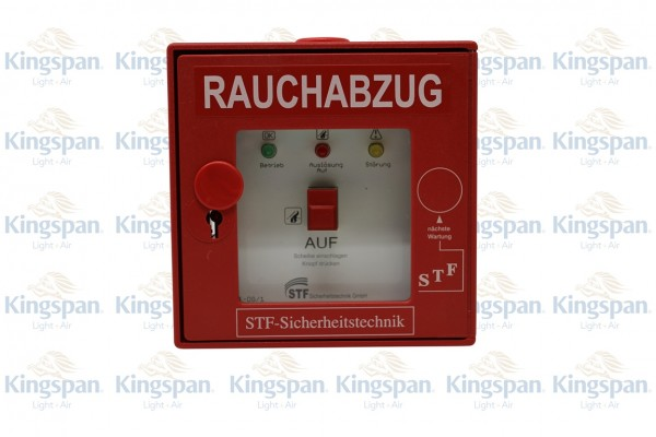 RWA-Taster STF DG 24V 3 Anzeigen Rot