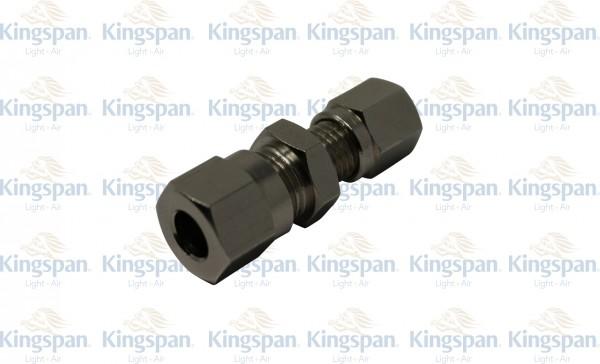Schneidringverschraubung gerade Reduzierung 8- 6mm