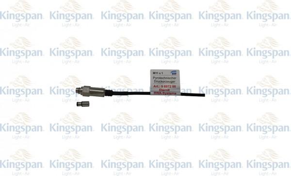 Druckgasgenerator Eternit 6972 mit Bolzen M11x1