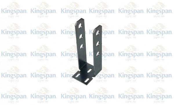 Konsole für Zylinder GZPN obere Aufhängung 128mm