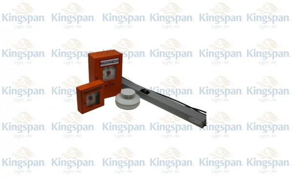 Treppenhausset STF-Orange Comfort mit Kettenantrieb