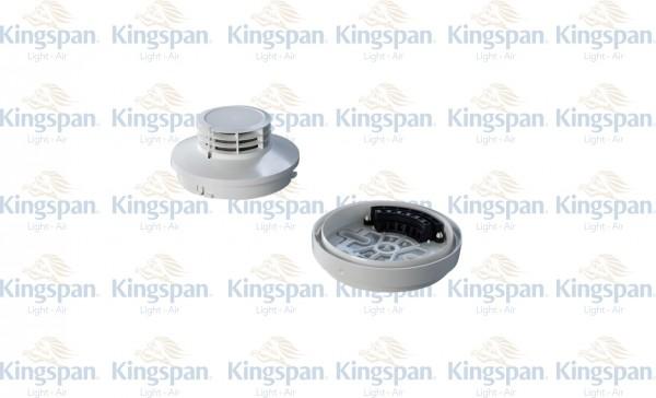 Lichtoptischer Rauchmelder MSD 523 mit Sockel USB 502-6
