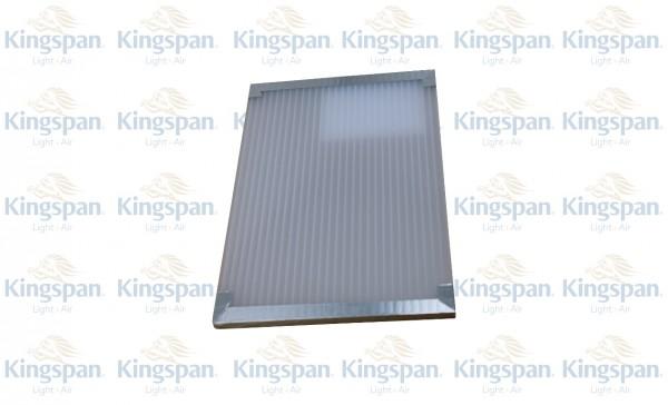 Polycarbonat -Mehrfachstegplatte PC 10/4 Opal