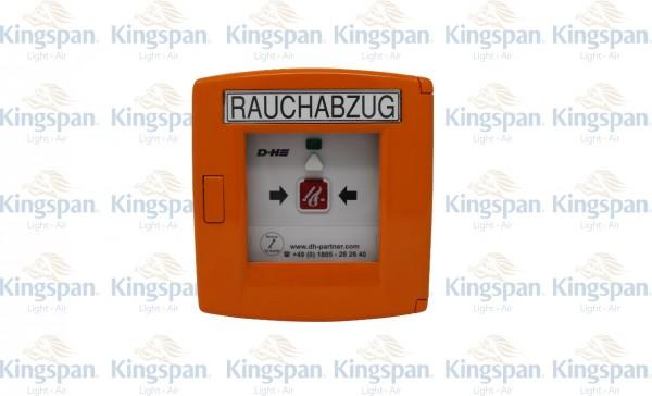 RWA-Taster 24V D+H RT-45 Orange ALU