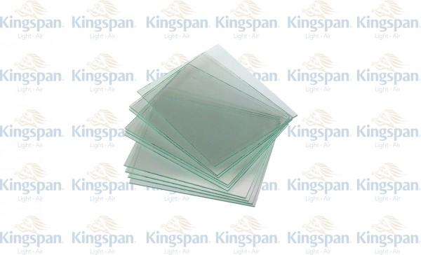 Glasscheibe 80 x 130 x 1,6